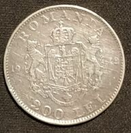 ROUMANIE - ROMANIA - 200 LEI 1942 - Mihai I - Argent - Silver - KM 63 - Roumanie