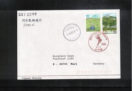Japan 1998 Olympic Games Nagano Figure Skating Interesting Cover - Winter 1998: Nagano