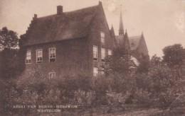 184613Abdij Van Berne Heeswijk, Westzijde 1924 (rechtsonder Een Vouw) - Nederland