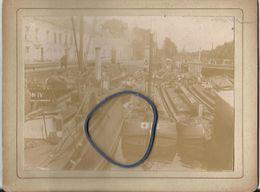 Vilvoorde - Kabinetfoto - Ecluse Des 3 Fontaines 15 Juni 1897  - 13.5 X 10.5 Cm - Vilvoorde
