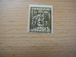 (19.08) BELGIE Voorafstempeling Nr 337 BRUXELLES-BRUSSEL 1934 - Precancels