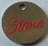 Jeton De Caddie - Stone - En Métal - - Trolley Token/Shopping Trolley Chip
