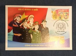 Vietnam Viet Nam Maxi Maxicard Iss. 19 Aug 2020 : 75th Anniversary Of Vietnamese Police Establishment (Ms1128) - Vietnam