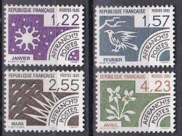 France Préoblitérés De 1985 YT 186-187-188-189 Neufs - 1964-1988