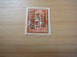 (19.08) BELGIE Voorafstempeling Nr 336 BRUXELLES-BRUSSEL 1934 - Precancels