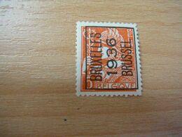 (19.08) BELGIE Voorafstempeling Nr 336 BRUXELLES-BRUSSEL 1936 - Precancels