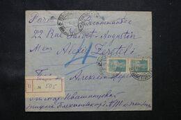 U.R.S.S. - Enveloppe En Recommandé Pour Paris En 1927 - L 68447 - Briefe U. Dokumente