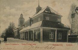 Gamlakarleby - Kokkola (Finland) Gamla Trivialskolan 1902 With Stamps - Rare - Finnland