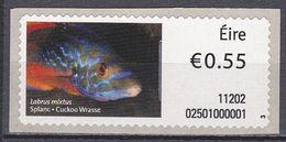 Irland Eire 2011 - ATM Mi.Nr. 25 - Postfrisch MNH - Tiere Animals Fische Fishes - Fische