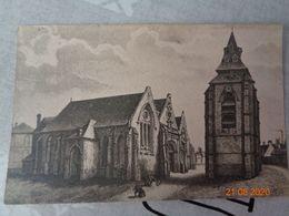 ABBEVILLE  :l'église SAINT-JACQUES  , (descriptif Au Dos) - Abbeville
