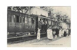 Cpa L'ARDOISE Ravitaillement D'un Train - Altri Comuni