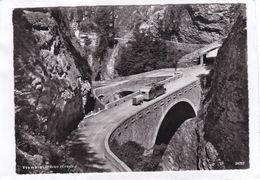 CPSM.  15 X 10,5  -  Viamala - Brücke (Graub.) - GR Grisons