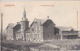 BELGIQUE SOMBREFFE ,les écoles Communales ,enfants Dans La Cour - Sombreffe