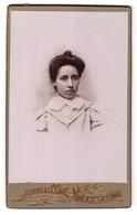 Photo Willemse, Embrun, Portrait De Junge Frau Avec Hochsteckfrisur - Anonyme Personen