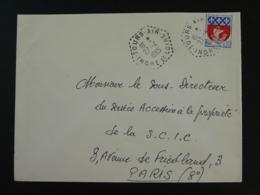37 Indre Et Loire Tours Air 1965 - Cachet Hexagonal Sur Lettre Postmark On Cover - Handstempels