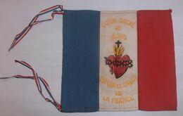 Drapeau Cœur Sacré De Jésus / Poilu / WW1 / 14-18 - 1914-18