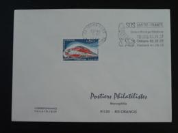 37 Indre Et Loire Tours Telephone SOS Amitié 1974 - Flamme Sur Lettre Postmark On Cover - Telecom