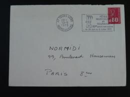 37 Indre Et Loire Tours Fêtes Musicales 1975 (ex 1) - Flamme Sur Lettre Postmark On Cover - Marcofilie (Brieven)