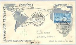 FDC 1956 - FDC