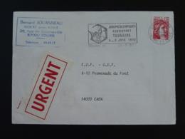 37 Indre Et Loire Tours Journées Handisport 1980 - Flamme Sur Lettre Postmark On Cover - Handisport
