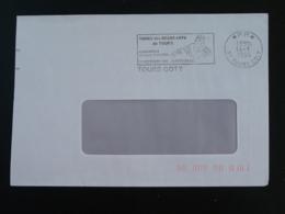 37 Indre Et Loire Tours Coty Exposition Claude Vignon PP Port Payé - Flamme Sur Lettre Postmark On Cover - Marcofilie (Brieven)