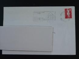 37 Indre Et Loire Tours CTC Exposition Louis François Cassas 1994 - Flamme Sur Lettre Postmark On Cover - Egyptologie