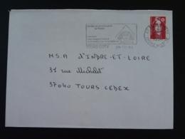 37 Indre Et Loire Tours Coty Exposition Louis François Cassas 1994 - Flamme Sur Lettre Postmark On Cover - Egyptologie