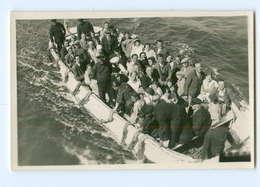 U1506/ Helgoland Ausbootung Foto AK Ca.1930 - Helgoland