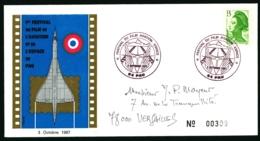 3 Octobre 1987 - 1er Festival Du Film L'Avitation Et De L'Espace De Pau - Andere