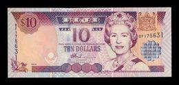 Fiji 10 Dollars Elizabeth II 2002 Pick 106 SC UNC - Fiji