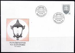Slowenko, 1996,  U 6, Gaslaterne,  140 J. Gas Industry, - Postal Stationery