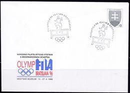 Slowenko, 1996,  U 7, OLYMPHILA BRATISLAVA - Postal Stationery