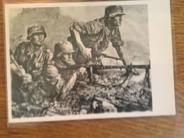 """III. Reich, Propaganda  Karte, """" L.M.G. """" Haus Der Deutschen Kunst, - Weltkrieg 1939-45"""