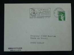 38 Isère Pont En Royans Grottes De Choranche 1979 - Flamme Sur Lettre Postmark On Cover - Puentes