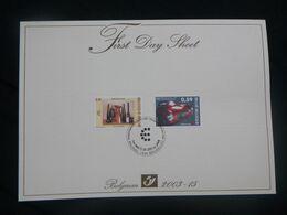 BELG.2003 3205/06 - FDS - Gemeenschappelijke Uitgifte Met Italië / émission Commune Avec Italie - 2001-10