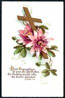 D9194 - TOP Litho - Spruchkarte Glaube - SJD - Christianisme