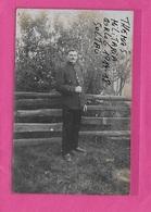 SOLTAU: FOTOKAART-KRIJGSGEVANGENE-JEAN KEREMANS-KAPELLEN-OP-DEN-BOSCH-SENCUUR STEMPEL-Z3660 - Guerre 1914-18