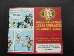 La Vache Qui Rit - 1974 - Dépliant Lucky Luke - Ohne Zuordnung