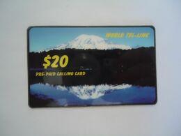 CANADA PREPAID   USED CARDS MOUNTAIN 20 - Canada