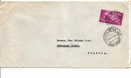 ESPAGNE SEUL SUR LETTRE POUR LA FRANCE 1964 - 1961-70 Briefe U. Dokumente