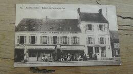 BARNEVILLE : Hotel De Paris Et La Poste …………………..OX-5393 - Barneville
