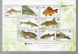 Ukraine 2019. Freshwater Fishes. Fish. Fauna.  MNH ** - Ukraine