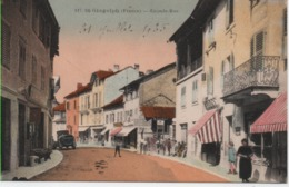 HTE SAVOIE-Saint-Gingolph-Grande Rue (colorisé) RB 117 - Other Municipalities