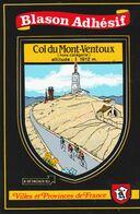 CPSM 84  LE MONT VENTOUX  BLASON ADHESIF CYCLISTES - Sin Clasificación