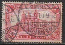 Allemagne N° 61 Oblitération Frankfurt 21/06/1901 - Gebraucht