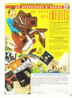 "PUB "" TINTIN "" Editions ROMBALDI 1988 ( 1 ) - Altri"