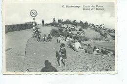 Blankenberge Blankenberghe  Entrée Des Dunes - Blankenberge