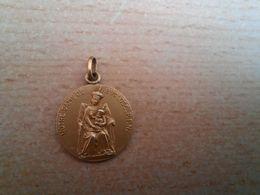 Ancienne Médaille Pendentif Notre-Dame De Buglose Parfait état - Pendants