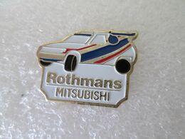 PIN'S     MITSUBISHI  PAJERO  ROTHMANS - Mitsubishi