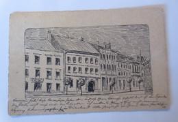 Handgemalt, Niederösterreich Marktgemeinde Dürnkrut, 1914 ♥ (25905) - Zonder Classificatie